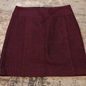 LOFT A-Line Skirt. Size 6. Barely worn.